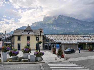 Train Station at Saint Gervais les Bains