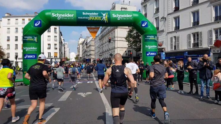 21km mark